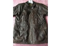 Leather jacket in excellent condition