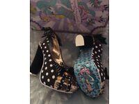 Irregular choice Aphrodite heels shoes brand new boxed