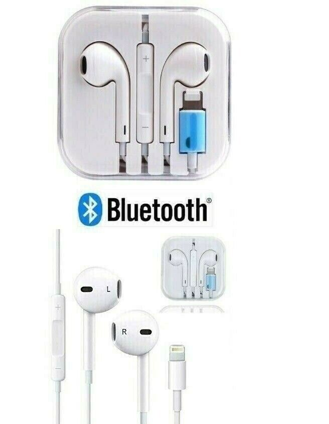 Brand New iPhone 7 8 Plus 10 X XR XS Wired Bluetooth Lightning Earphones  With Remote & Mic | in Croydon, London | Gumtree