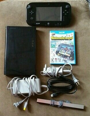 Nintendo Wii U 32GB Console Bundle - Black