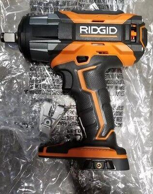 "RIDGID R86011B 18v 1/2"" Cordless Impact Wrench Brushless 4-Mode Gen5x Tool Only"