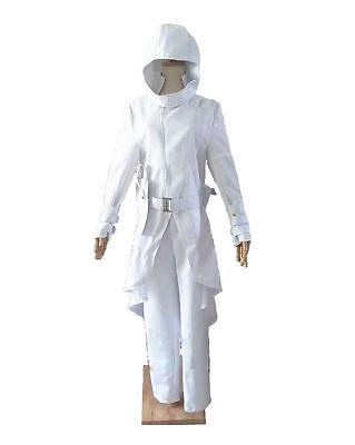G I Joe Retaliation Cosplay Storm Shadow Paladin Pure White Uniform Costume F603
