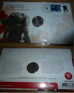 2010 Australia Remembers -Lost Soldiers-Fromelles - PNC + UNC 20c Wembley Cambridge Area Preview