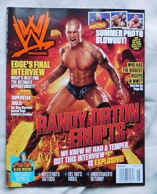 WWE MAGAZINE June 2011 Randy Orton