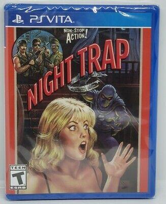 Night Trap (PlayStation PS Vita) Limited Run Games LRG #193 NEW FACTORY SEALED