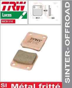 2 Plaquette frein Avant TRW Métal frité MCB510SI Yamaha YFM 450 Kodiak AJ06 03-0 - France - État : Neuf: Objet neuf et intact, n'ayant jamais servi, non ouvert, vendu dans son emballage d'origine (lorsqu'il y en a un). L'emballage doit tre le mme que celui de l'objet vendu en magasin, sauf si l'objet a été emballé par le fabricant d - France