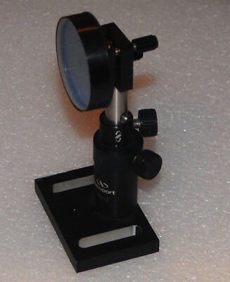 Newport Laser Mirror With Kinematic Mount P100-p Vph-2 Holder B-2 Base