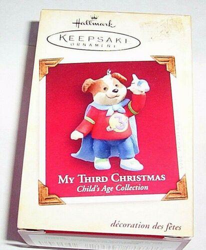 "2005 HALLMARK ORNAMENT ""MY THIRD CHRISTMAS""  QXG4552"