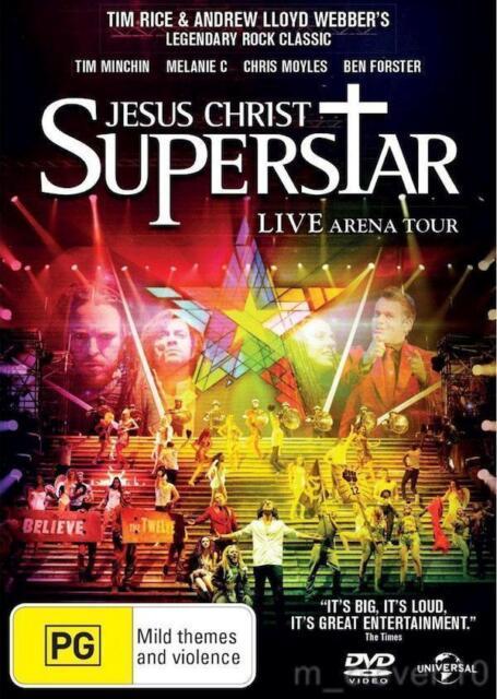 JESUS CHRIST SUPERSTAR: Live Arena Tour 2012 : NEW DVD : Tim Minchin