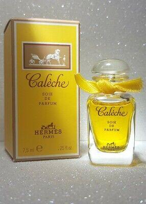 Caleche Hermes Soie de Parfum 7.5ml Miniature Ladies Bottle Perfume