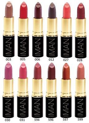 IMAN Luxury Moisturizing Lipstick 3.7g
