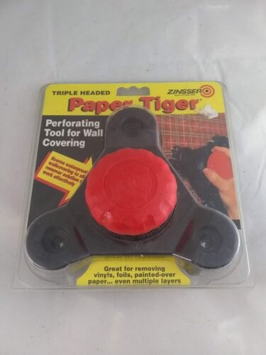 Zinsser Triple Headed Paper Tiger Scoring Tool for Wallpaper Removal