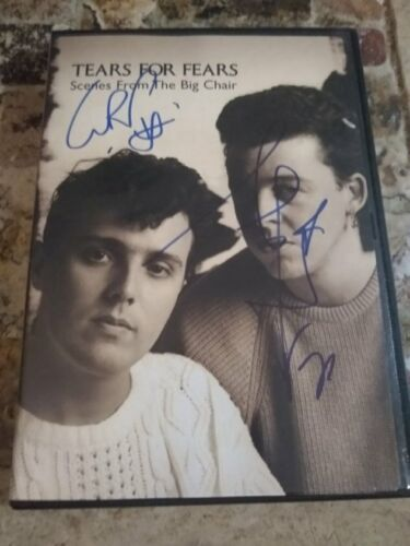 Signed Tears For Fears Scenes From The Big Chair Autographed DVD