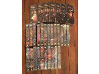 Job Lot Star Trek VHS Video Tapes collection