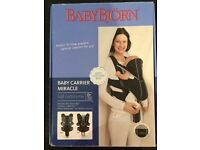 Baby Bjorn baby carrier miracle- great condition