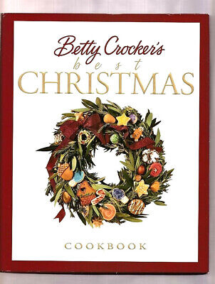 1ST EDITION BETTY CROCKER'S BEST CHRISTMAS COOKBOOK-250 RECIPES COOKIES-DRINKS+
