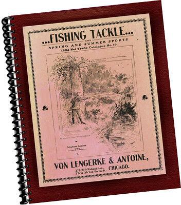 Lengerke Antoine 1904 Fishing Tackle Spring Summer Sports CATALOGUE Abercrombie