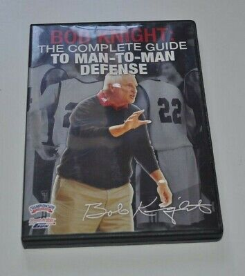 Bob Knight Practice Planning And Drills For Mental Toughness DVD