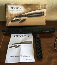 REVLON SHAPE AND SMOOTH HOT AIR STYLER, MODEL 5265CU