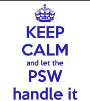 Private PSW available
