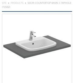 Ideal standard tempo vanity basin
