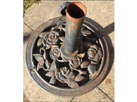 Lovely Rose patterned umbrella stand