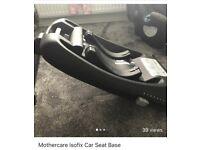 Mothercare Isofix Car Seat Base