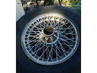 MG B 1969 multi spoke wheels x 3