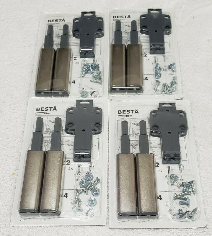 (4) IKEA Besta 902.563.36 Cabinet & Dresser Openers (New/Sealed)