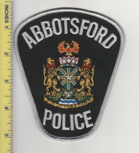 Canadian Police Patch Abbotsford British Columbia Police Department