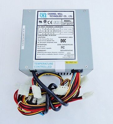 NEW, Channel Well Tech (CWT) 250W standard AT Power supply