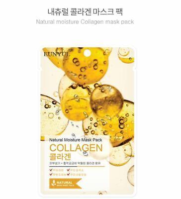 [K-Beauty] Natural Collagen Mask Pack (50Sheets)