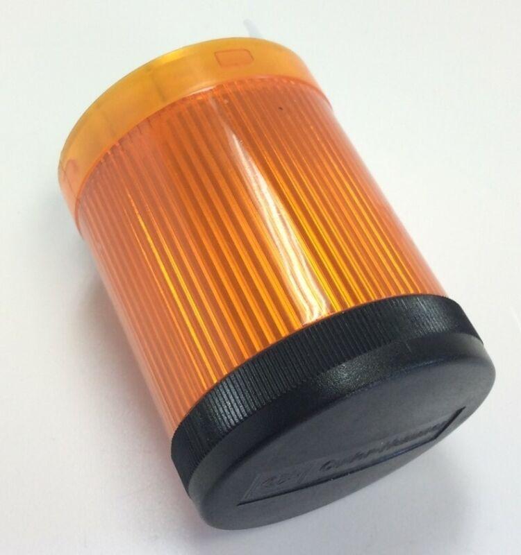Eaton Cutler-Hammer E26BL Amber Stack Tower Light *No Bulb* 250V 6 Watt Max