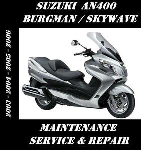 suzuki burgman 400 2003 car interior design suzuki burgman 200 service manual download suzuki burgman uh 200 repair manual
