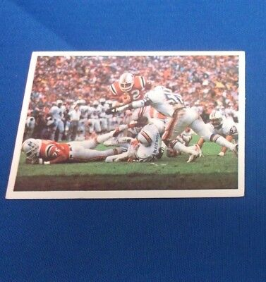 1986 Jeno's Pizza New England Patriots #35 HEAD FOR SUPERBOWL CARD