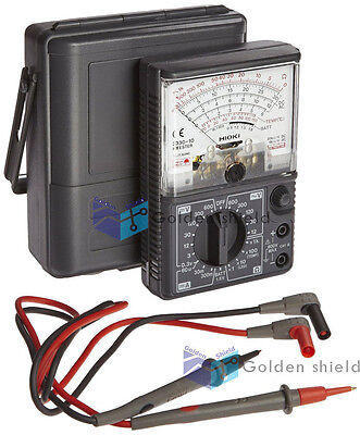 Hioki 3030-10 Analog Multimeter Hitester Drop Shock Proof Meter Free Express