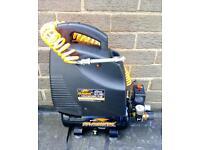 Hawk tools 6 litre 1.5hp 230v 5.7 cfm workshop compressor