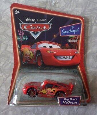 NEW Disney Pixar Cars Lightning McQueen Bug Mouth Original Car Supercharged Disney Pixar Cars Supercharged Bug