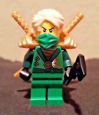 Lego  Ninjago Minifig - Lloyd Garmadon Green Techno Ninja With Weapons (70728)](Lego Lloyd)