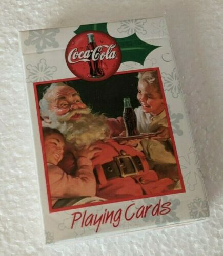 Coca Cola Playing Cards Deck BRAND NEW & SEALED! Holiday 1999 Christmas Santa