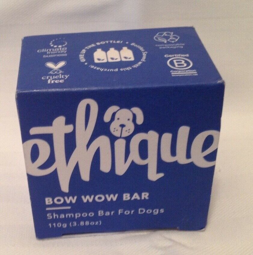 Ethique Eco-Friendly Shampoo Bar For Dogs, Bow Wow Bar 3.88
