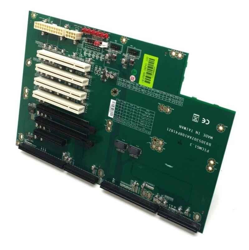 Portwell PBPE-08P41 Backplane 2x PCI-E x16 1x PCI-E x8 4x PCI PICMG 1.3 2x SATA