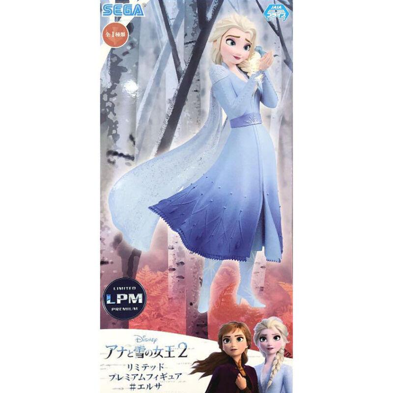 SEGA Disney Frozen 2 Elsa Premium Figure LPM Prize jaoanese Limited