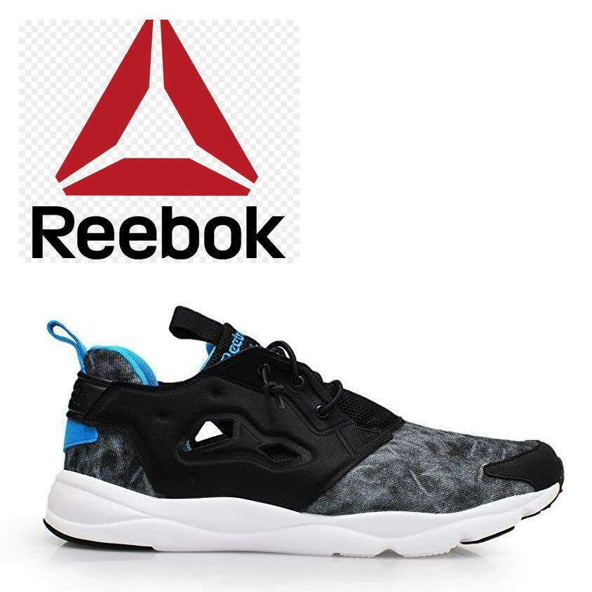 Détails sur Reebok Furylite Running Chaussures De Sport Hommes Baskets Joggers afficher le titre d'origine