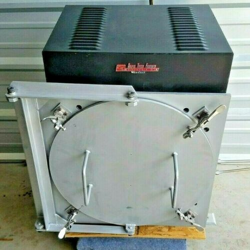 CM 1216FL Rapid Temp Furnace with Retort - Parts Only, Not Working