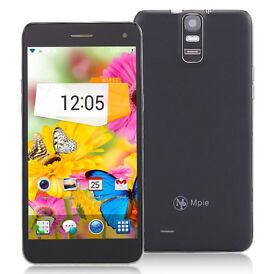 MPIE T6S Android 4.4 3G Phablet 5.5 inch HD 2GB RAM 4GB ROM WiFi GPS OTG NFC Fingerprint Dual Cam