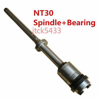 Milling Machine Bridgeport Nt30 Shaft Spindle 6207 Bearing Vertical Mill Part