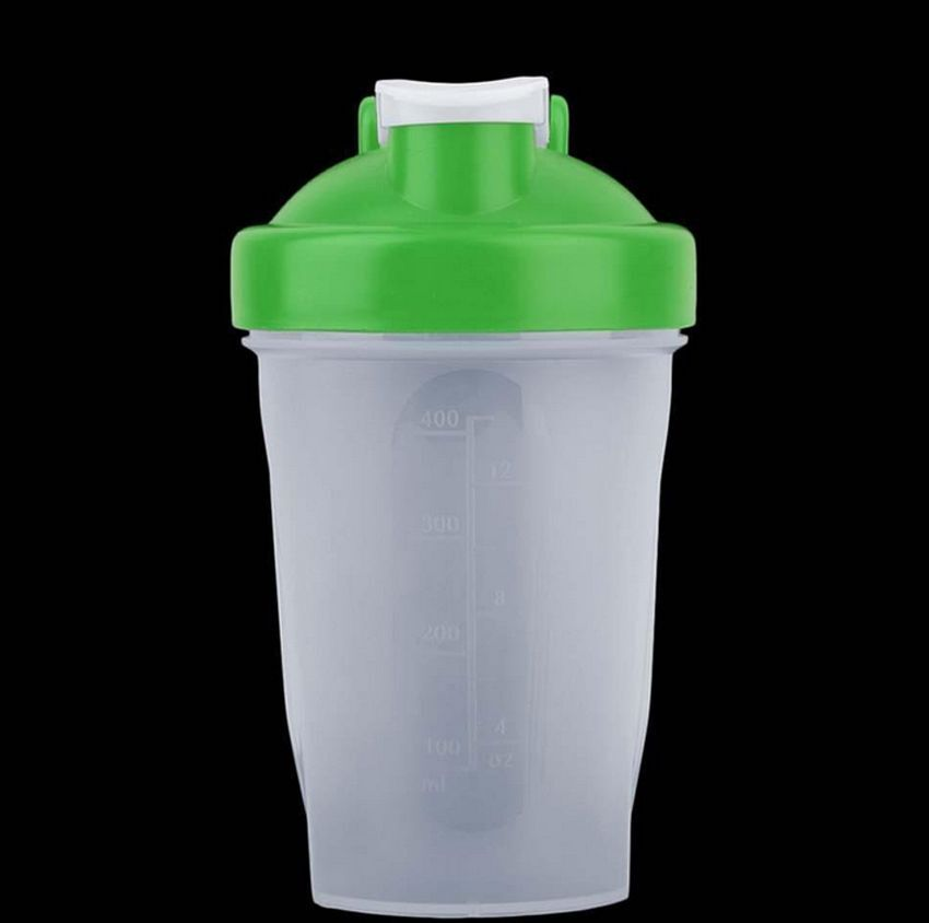 400ml Protein shaker mixer Bottle Safety Gym Sport Plastic Cup us
