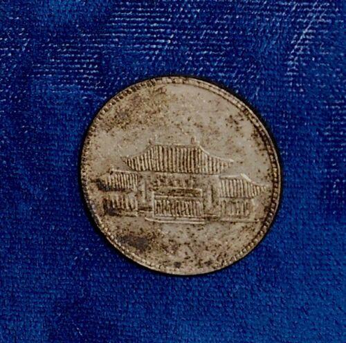 China-Yunnan Yr 38 (1949) EF-AU silver 20 cents