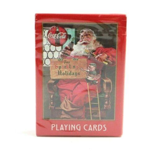 1998 Coca Cola Christmas Playing Cards No 334 NIP Sealed